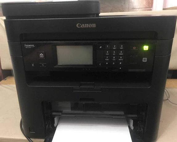 МФУ Принтер Canon i-SENSYS MF216n ВСЕ работает!