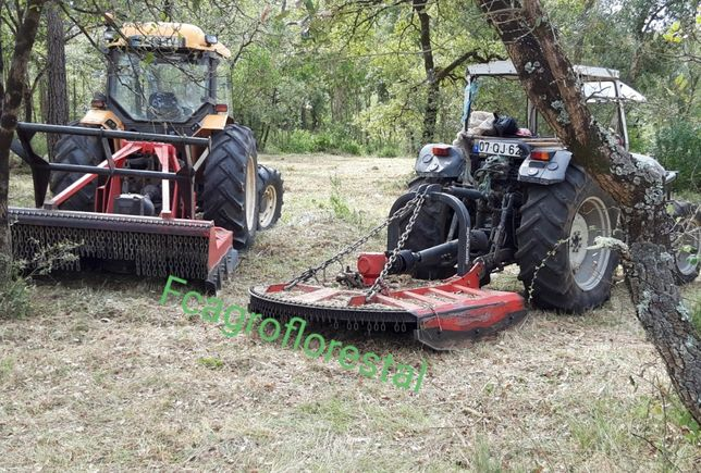 Limpezas de terrenos florestais e vedações
