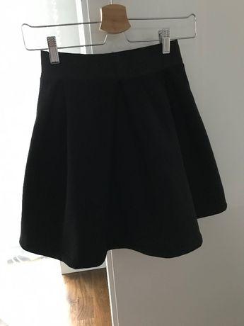 komplet spódnica i t-shirt z mięsistej dresówki