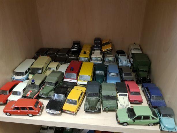 коллекция минимашинок автолегенды СССР