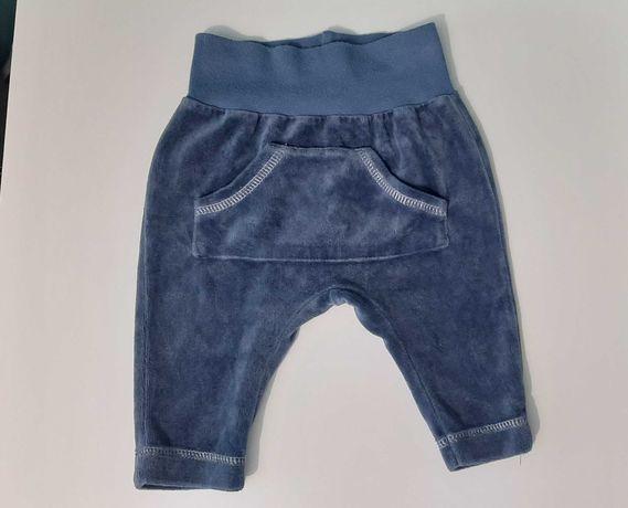 Spodnie niemowlęce dziecięce rozmiar 62 cm