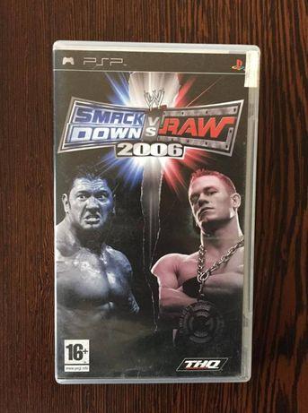 Jogo para PSP - Smackdow vs Raw 2006