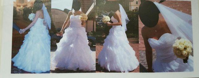 Suknia ślubna firmy Angel model cascada