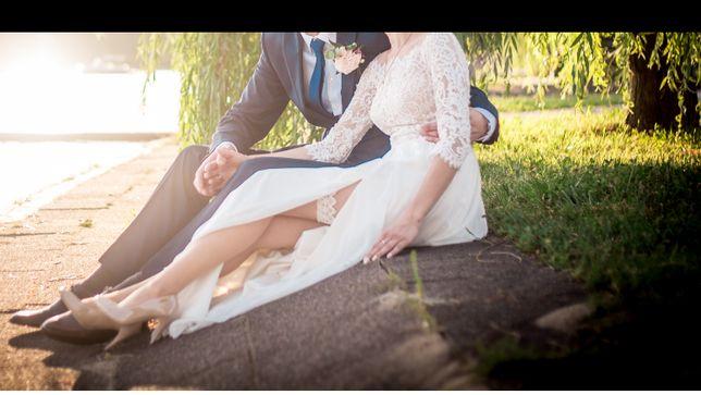 Suknia ślubna boho Herm's bridal aragonite