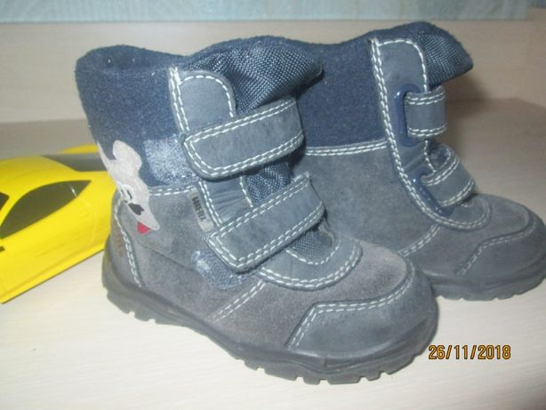 Демисезонные сапоги/ботинки/термик Gore Tex р.22 унисекс осень/весна