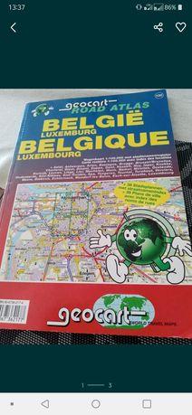 Mapy Belgii autostrady