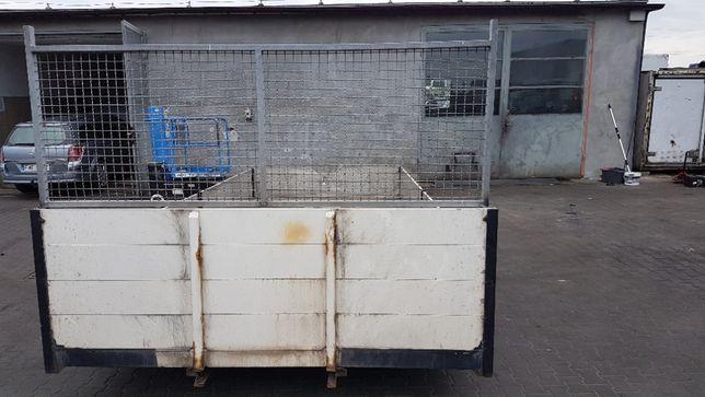 Paka zabudowa skrzynia ładunkowa 6,10m x 2,46m, rama 80cm