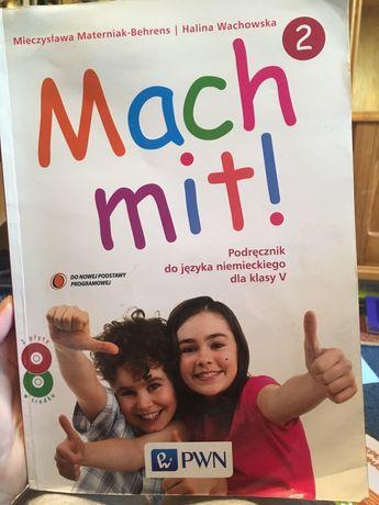 Mach mit! Podręcznik do niemieckiego, klasa 5