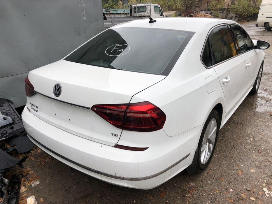 Passat  usa b8 2018 авторазборка четверть двери стопы багажник бампер Киев - изображение 1
