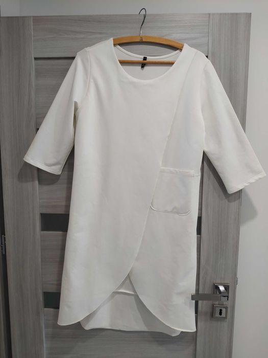 Śliczna biała sukienka Jędrzejów - image 1