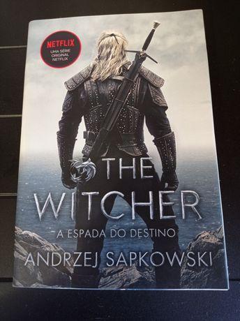 Livro NOVO The Witcher A Espada do Destino - Andrzej Sapkowski