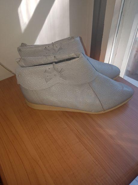 Ботинки,туфли, ботильоны кожа