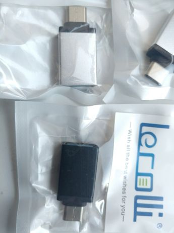Перехрдник Type c USB, OTG Lecolli
