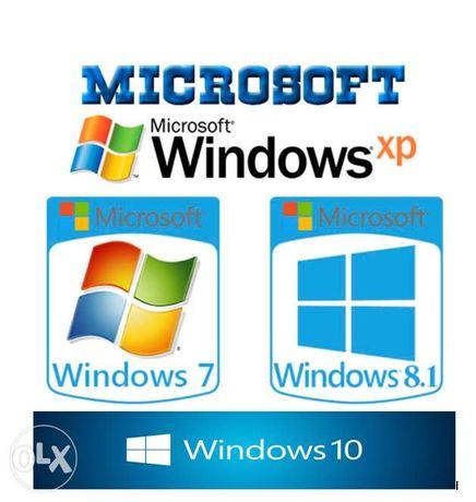 Установка любых версии Windows от XP до 10(32bit-64bit)в Ялте