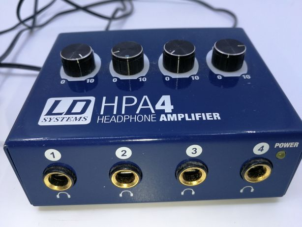 Ld systems hpa4 hpa-4 Wzmacniacz sluchawkowy
