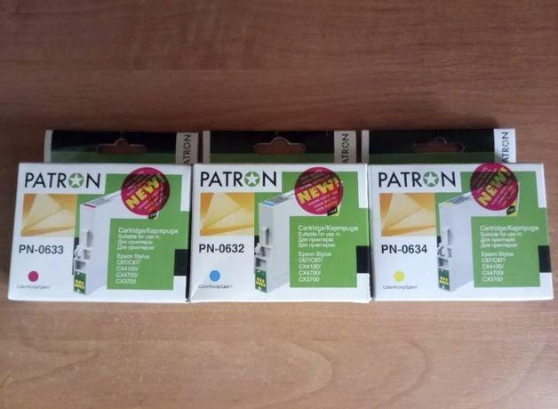 Картриджи PN-0632, PN-0633, PN-0634, PATRON (Epson C67/87,CX3700/4100)