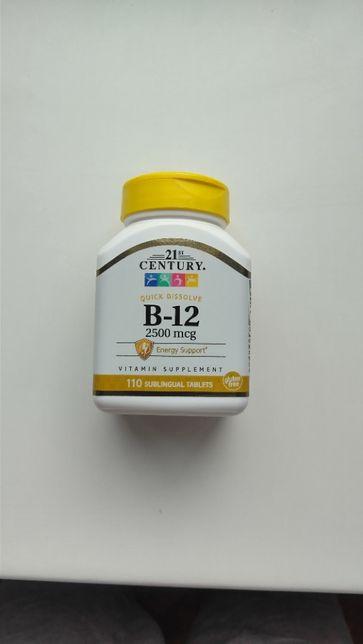 Витамин B12 21st Century, 2500 мкг