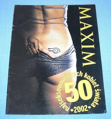Maxim 50 najseksowniejszych kobiet świata 2002