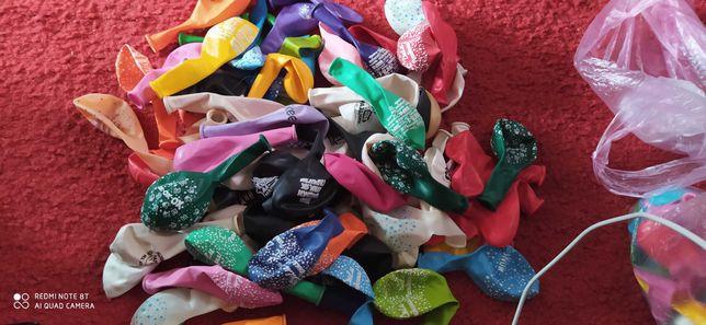 Шарики надувные с прикольными надписями и рисунками