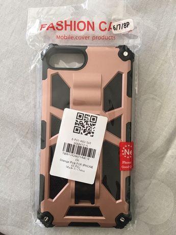 Capa anti impato Iphone 6s plus rosa gold