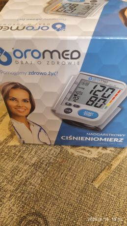 Nadgarstkowy Ciśnieniomierz Oromed