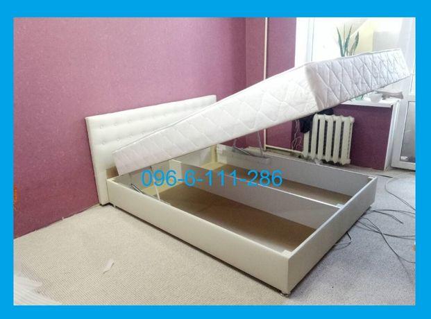 Кровать Камила с матраcом и механизмом140/160/180х200 NST. Alliance