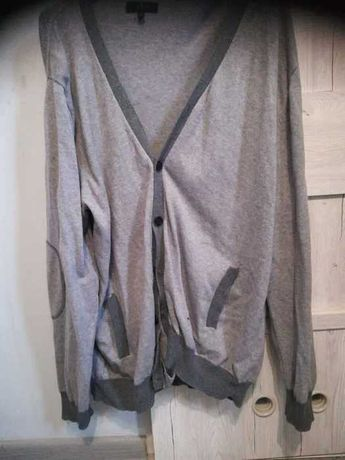 Sweter szary męski xxl