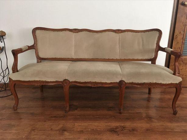 Komplet mebli stół krzesła sofa komody / Ludwik