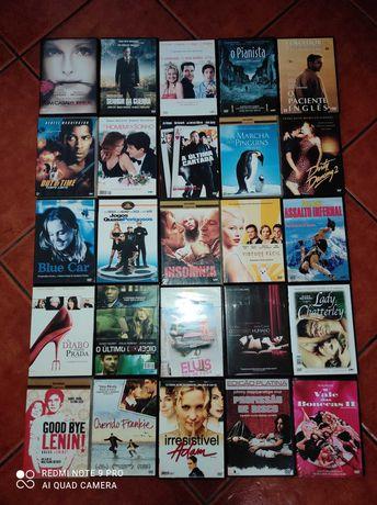DVDs diversos originais
