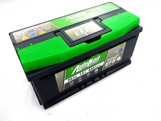 Akumulator GALAXY EFB 95Ah 850A Start Stop