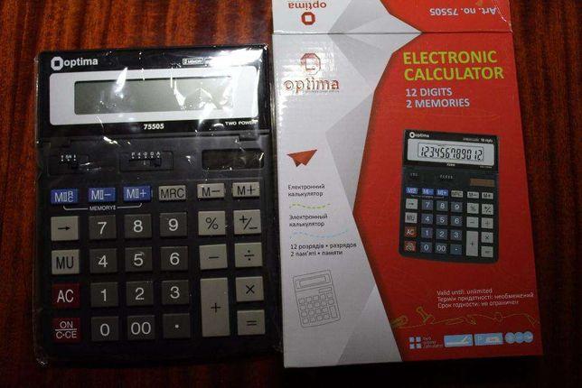 Хорошая цена на Калькулятор Оптима настольный
