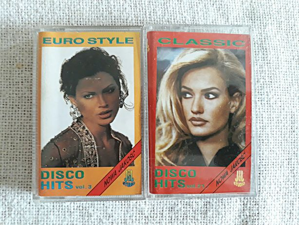 Kasety Studio J&J Euro Style Disco Hits vol.3