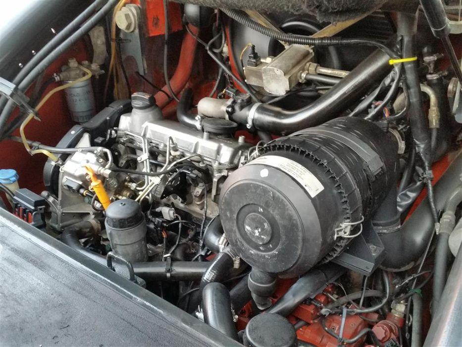 Wózek widłowy Linde H50D 2006 rok kabina diesel