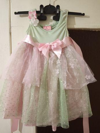 Фея принцесса костюм платье принцессы феи бабочки весны цветочка