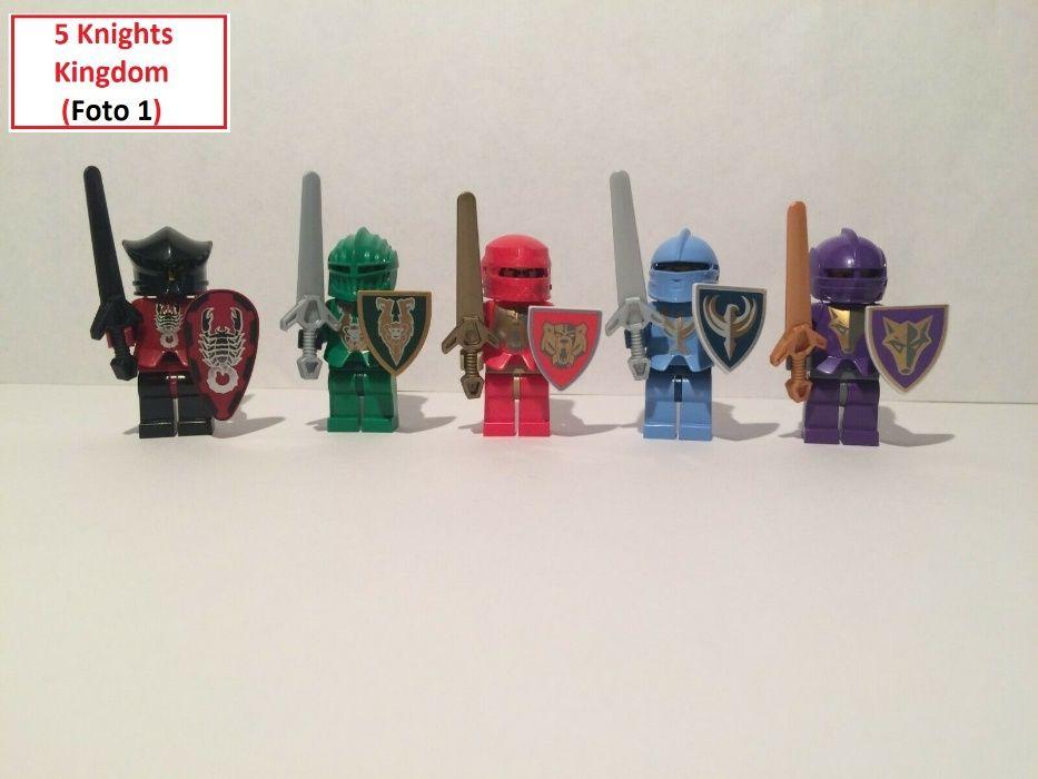 LEGO CASTLE - 5 Lotes de Figuras