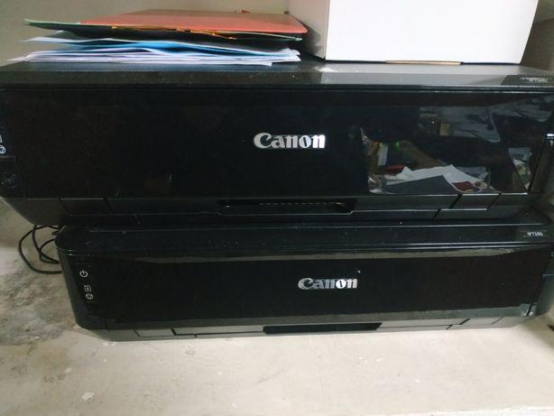 Canon Pixma ip7240 + очищающая жидкость + провода