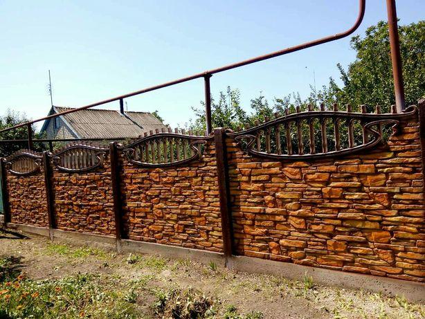 бетонный забор винница цена