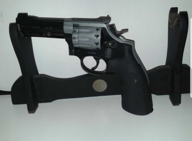 """Rewolwer Smith&Wesson 586 4"""" 4,5 mm +zest"""