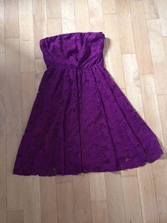 krotka sukienka zara L