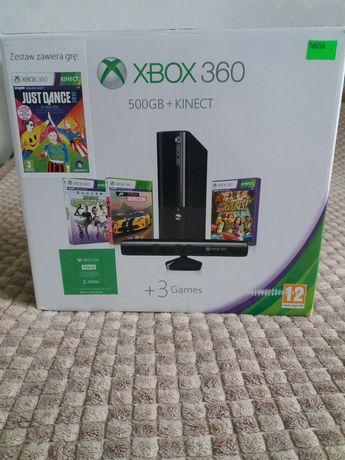Xbox 360 E 500Gb+Kinect