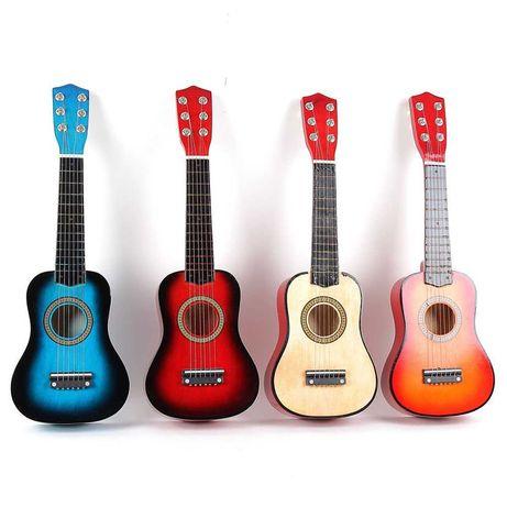 Детская деревянная гитара