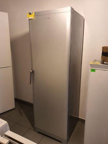 Chłodziarka lodówka Privileg 185 cm A++ srebrna