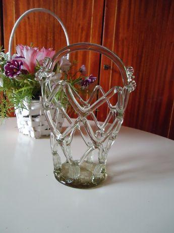 Винтажная вазочка для фруктов, конфетница корзинка СССР