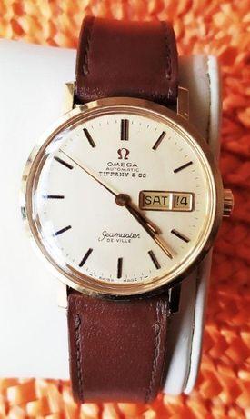 Продам золотые мужские часы Omega seamaster de ville