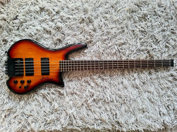 Gitara Basowa Steinberger Spirit XZ-25 USA Preamp Aguilar - headless