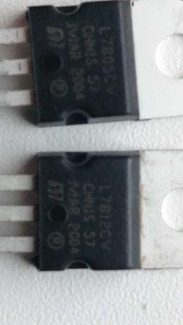 линейный стабилизатор  7805CV и 7812CV корпус TO220