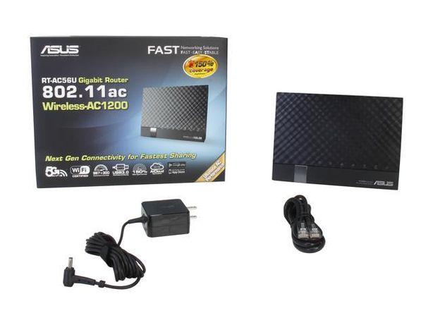 Router Asus RT-AC56u como novo