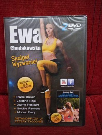 Ewa Chodakowska Skalpel Wyzwanie plus bonus DVD płyta nowa zafoliowana