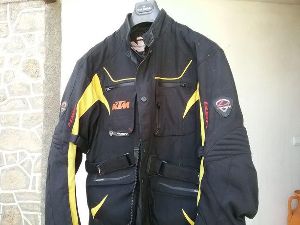 Blusão casaco motard Leoshy