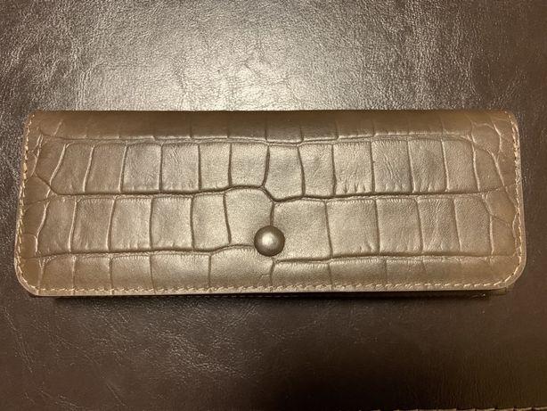 Клатч партмоне визитница кошелек Genuine leather мужской Италия